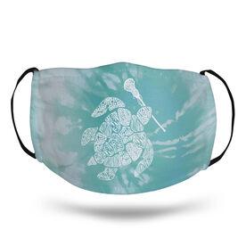 Girls Lacrosse Face Mask - Lax Turtle Tie-Dye