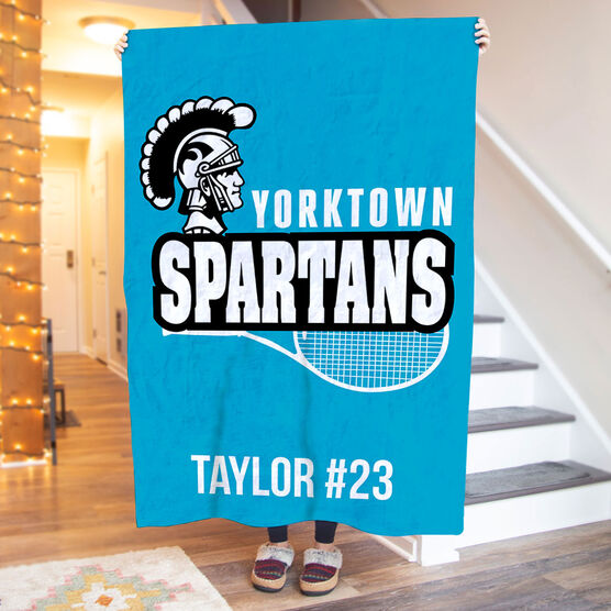 Tennis Premium Blanket - Custom Team Logo