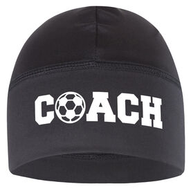 Beanie Performance Hat - Soccer Coach