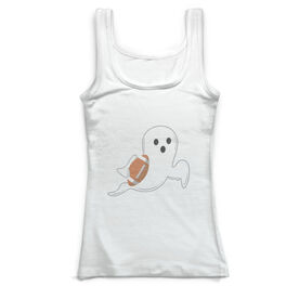 Football Vintage Fitted Tank Top - Ghost