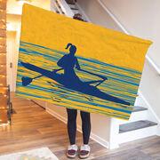 Crew Premium Blanket - Female Rower