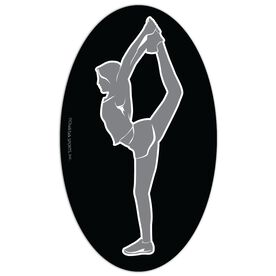 Cheer Oval Car Magnet Back Foot Grab