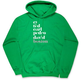 Baseball Hooded Sweatshirt - FANtastic-Boston