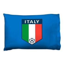 Soccer Pillowcase - Italy