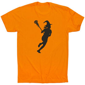 Girls Lacrosse Short Sleeve T-Shirt - Lax Witch