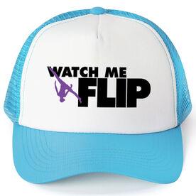 Gymnastics Trucker Hat Watch Me Flip