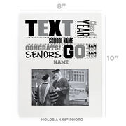 Personalized Photo Frame - School Pride Graduate