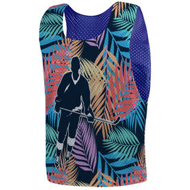 Hockey Pinnie - Palm Hockey with Silhouette