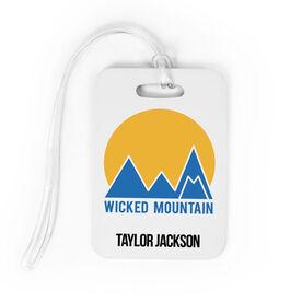 Skiing and Snowboarding Bag/Luggage Tag - Custom Logo