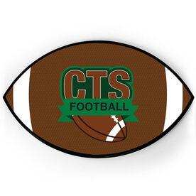 Football Plaque - Custom Logo