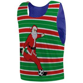 Soccer Pinnie - Score Santa
