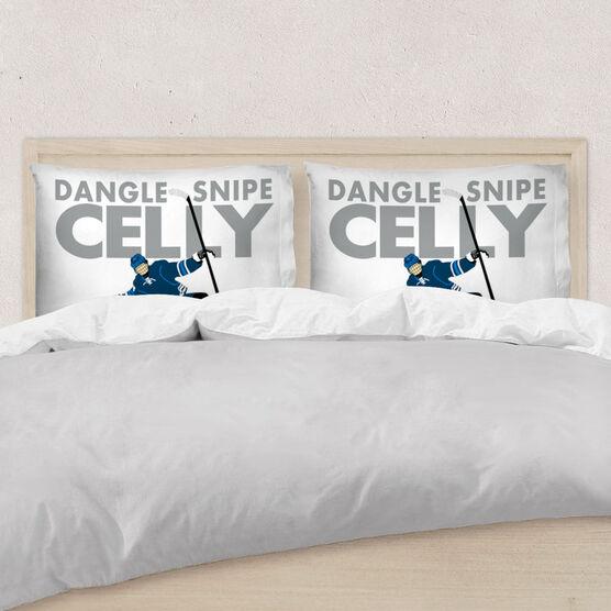 Hockey Pillowcase - Dangle Snipe Celly