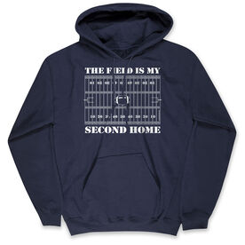 Football Standard Sweatshirt - The Field Is My Second Home