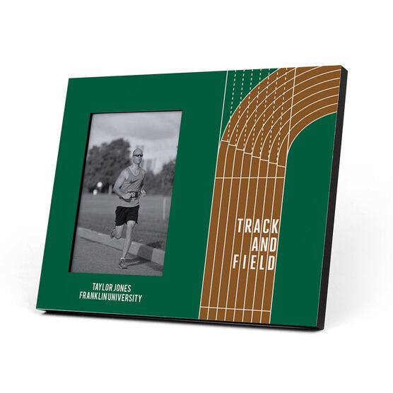 Track and Field Photo Frame - Track and Field Lanes