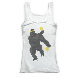 Ping Pong Vintage Fitted Tank Top - Game On Like Kong