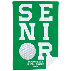 Golf Premium Blanket - Personalized Senior