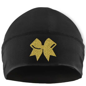 Beanie Performance Hat - Cheer Bow