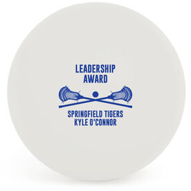 Guys Lacrosse Ball - Team Award with Crossed Sticks