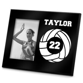 Volleyball Photo Frame Volleyball Team Number
