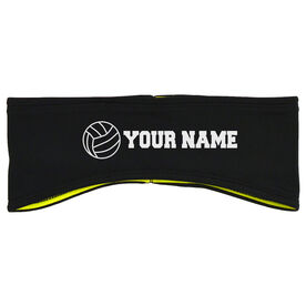 Volleyball Reversible Performance Headband Personalized Name Volleyball