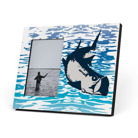 Fly Fishing Photo Frame - Watercolor Tarpon