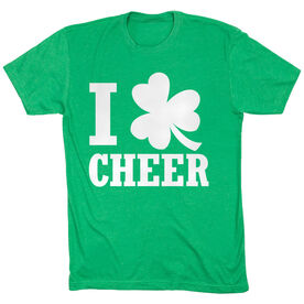 Cheer Tshirt Short Sleeve I Shamrock Cheer