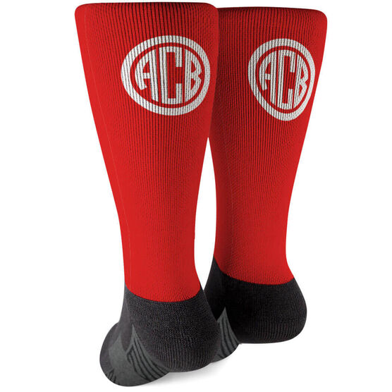Personalized Printed Mid-Calf Socks - Mrs. Always Right