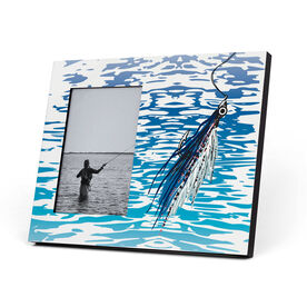 Fly Fishing Photo Frame - Watercolor Clouser