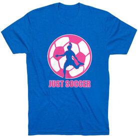 Soccer Tshirt Short Sleeve Just Soccer (Female)