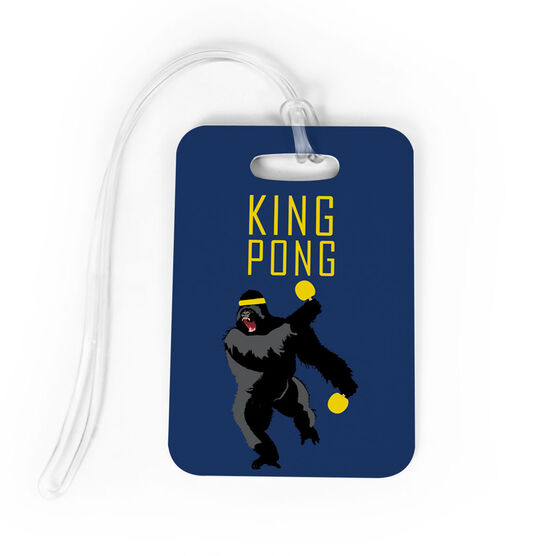 Ping Pong Bag/Luggage Tag - King Pong