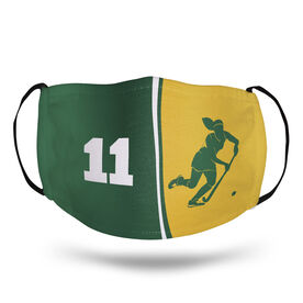 Field Hockey Face Mask - Personalized Player Number