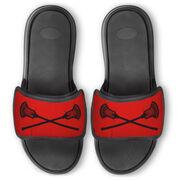 Guys Lacrosse Repwell® Slide Sandals - Crossed Sticks