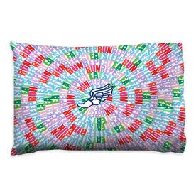 Running Pillowcase - Eat Sleep Run Repeat Spiral
