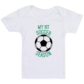 Soccer Baby T-Shirt - My First Soccer Season