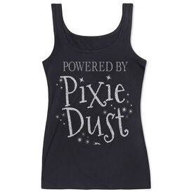 Women's Athletic Tank Top Powered by Pixie Dust