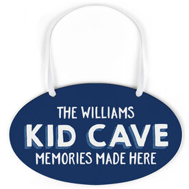 Oval Sign - Personalized Kid Cave