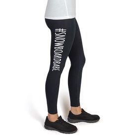 Snowboarding High Print Leggings #SnowboardBabe