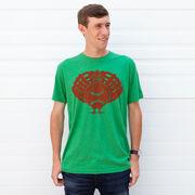 Baseball Short Sleeve T-Shirt - Turkey Player