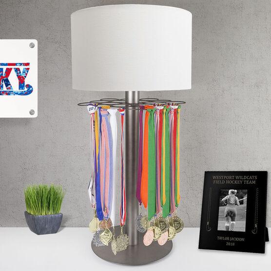 Field Hockey Tabletop Medal Display Lamp