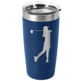 Golf 20 oz. Double Insulated Tumbler - Female Silhouette
