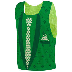 Hockey Pinnie - Irish Suit