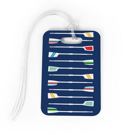 Crew Bag/Luggage Tag - Oar Pattern