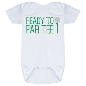 Golf Baby One-Piece - Ready To Par Tee