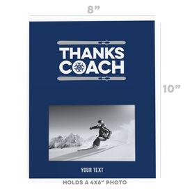 Skiing Photo Frame - Coach (Autograph)