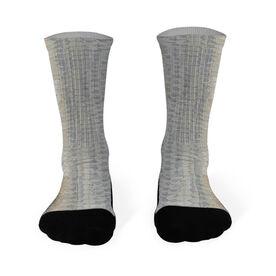 Fly Fishing Printed Mid Calf Socks Tarpon