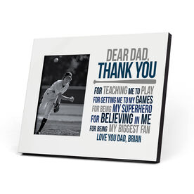 Baseball Photo Frame - Dear Dad