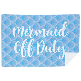Swimming Premium Blanket - Mermaid Off Duty
