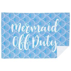 Swimming Premium Blanket - Mermaid Off Duty
