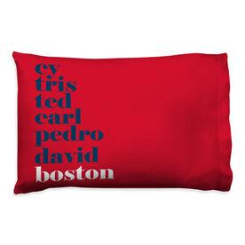 Baseball Pillowcase - Mantra Boston