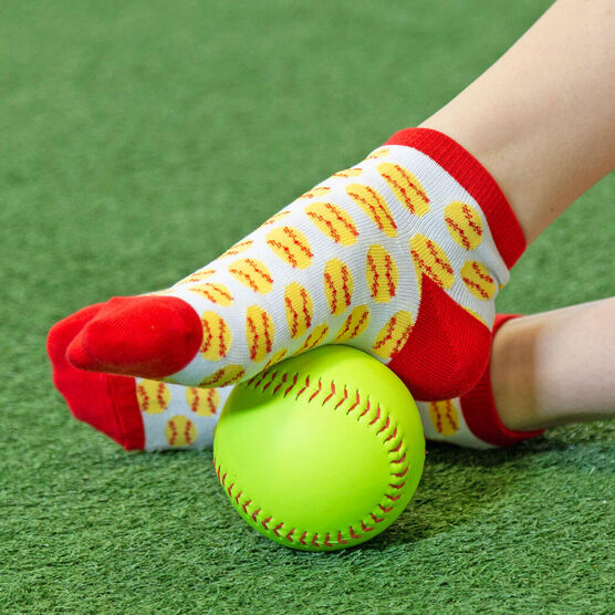 Softball Ankle Socks - Softball All Day